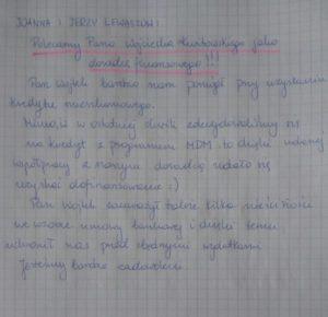 Joanna iJerzy Lewaszow: Polecamy Wojciecha Kwitowskiego